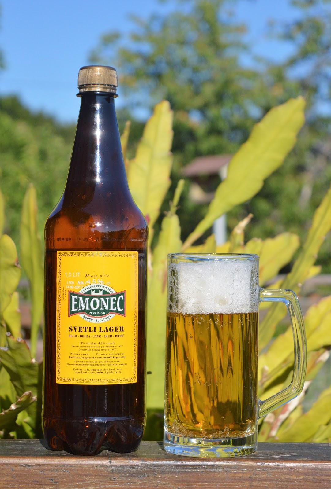 domače pivo Emonec